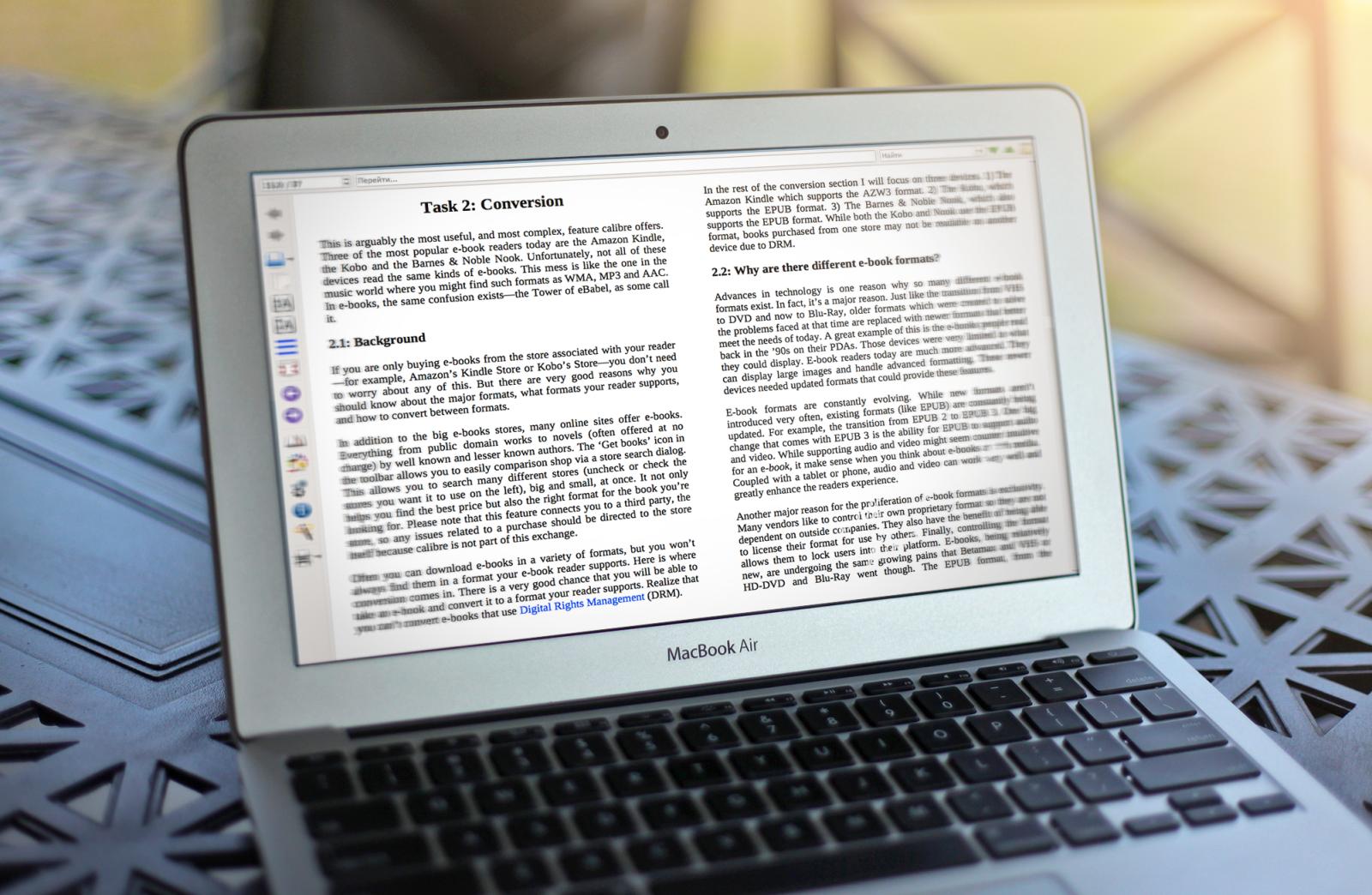 Calibre для Mac —ультимативный инструмент для работы с книгами