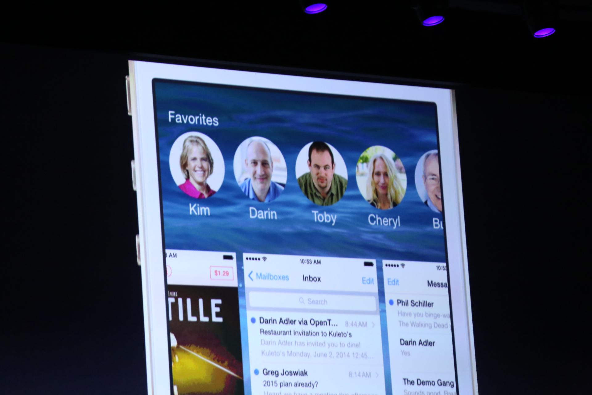 Как убрать иконки контактов в режиме многозадачности на iOS 8