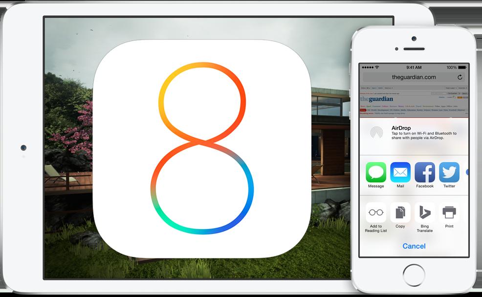 Как правильно подготовить свой iPhone или iPad к обновлению на iOS 8