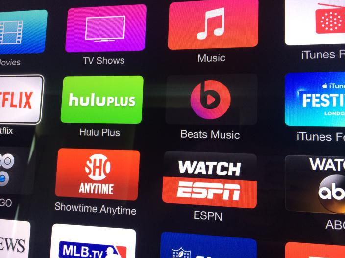Обновление Apple TV: улучшенный дизайн, канал Beats Music, Family Sharing и iCloud Photos