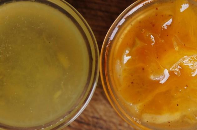 Имбирный и апельсиновое-имбирный джемы