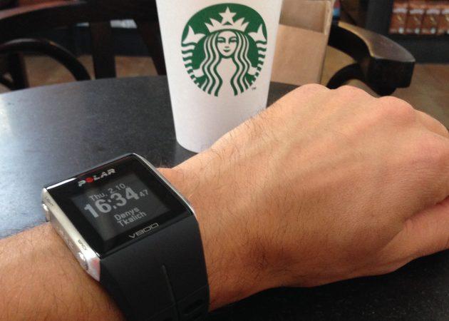 Polar V800 daily watch