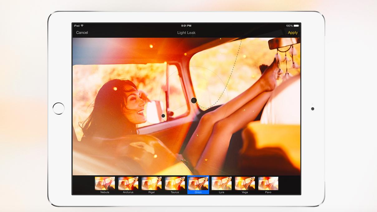 Pixelmator для iPad —новый стандарт фоторедакторов