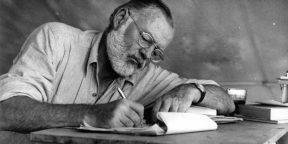 Как выбраться из писательского кризиса. Правило Хемингуэя