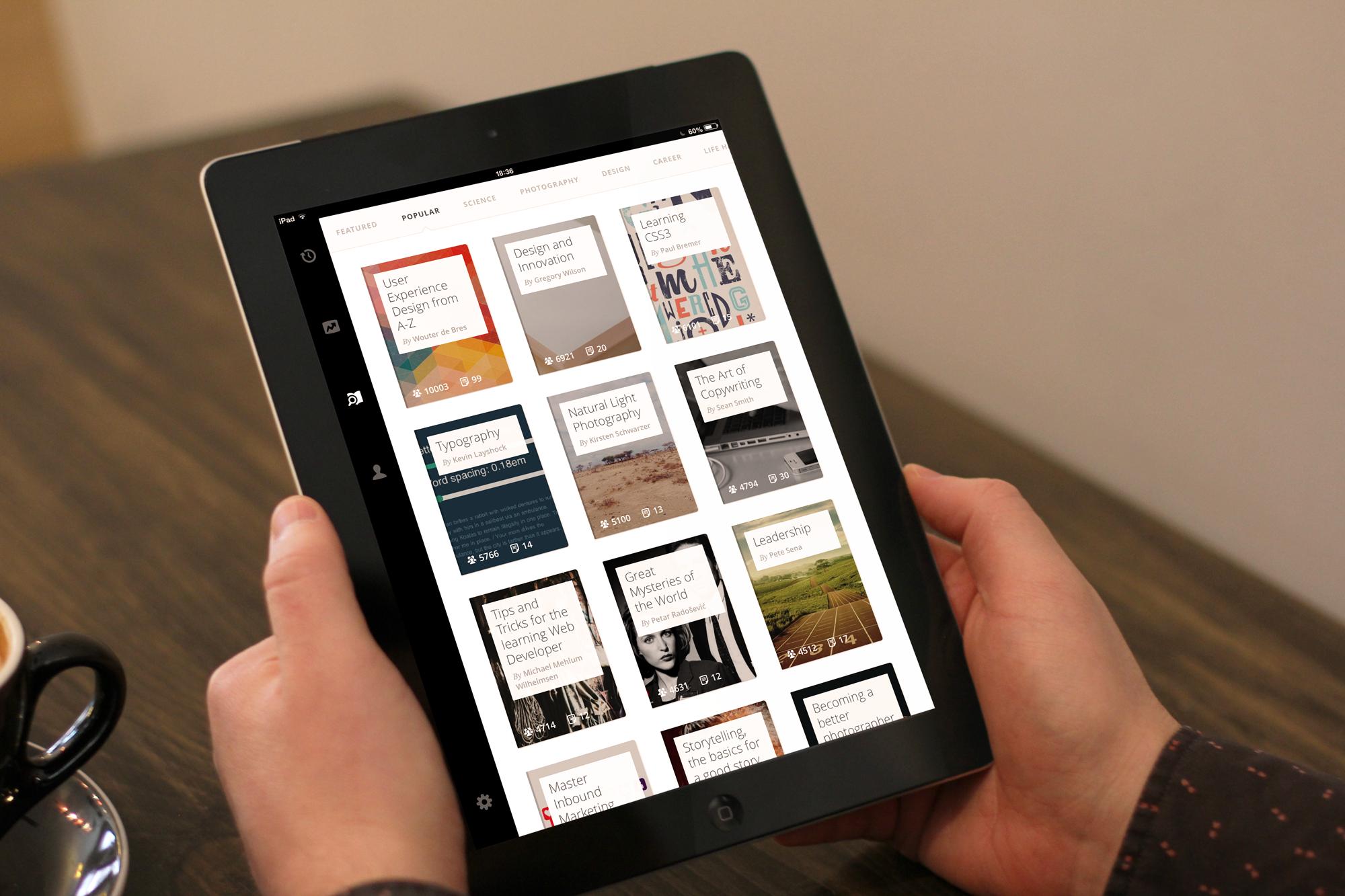 Gibbon для iPad —один из лучших образовательных сайтов теперь всегда под рукой