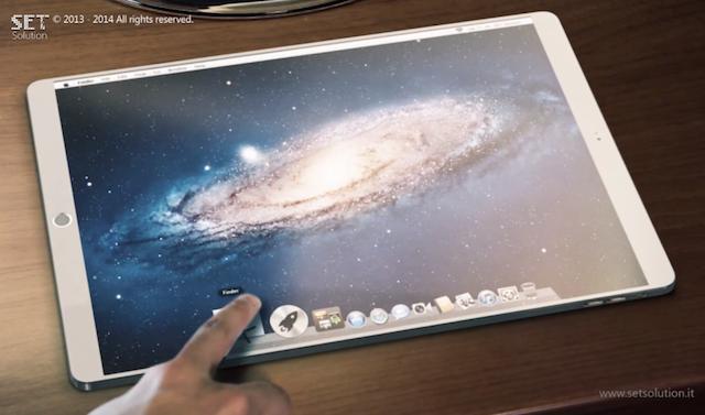 iPad Pro получит 7 мм-корпус, стереодинамики и 12,2-дюймовый экран