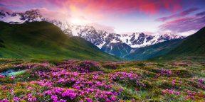 25 мест, в которых можно увидеть самые красивые закаты