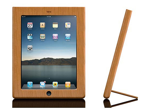 vers-audio-wooden-frame-for-ipad-tablet