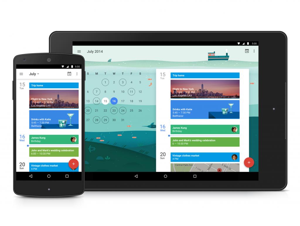 Google Calendar получил превосходный дизайн и персонального ассистента