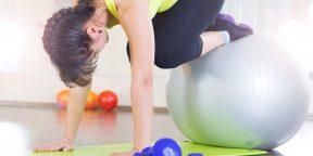 Идеальные силовые упражнения с фитболом для бегунов