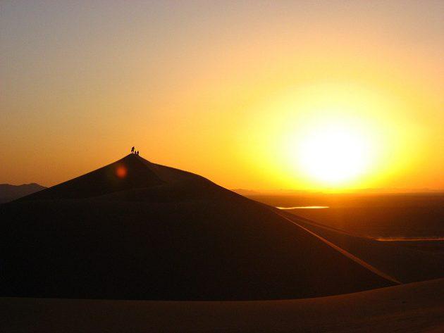 Секс на закате солнца