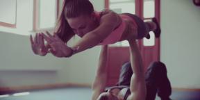 Видеоподборка упражнений, которые можно выполнять с партнёром