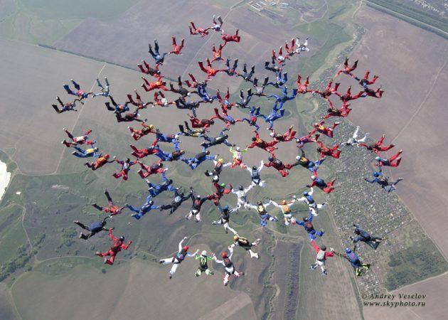 Артём увлекается парашютным спортом