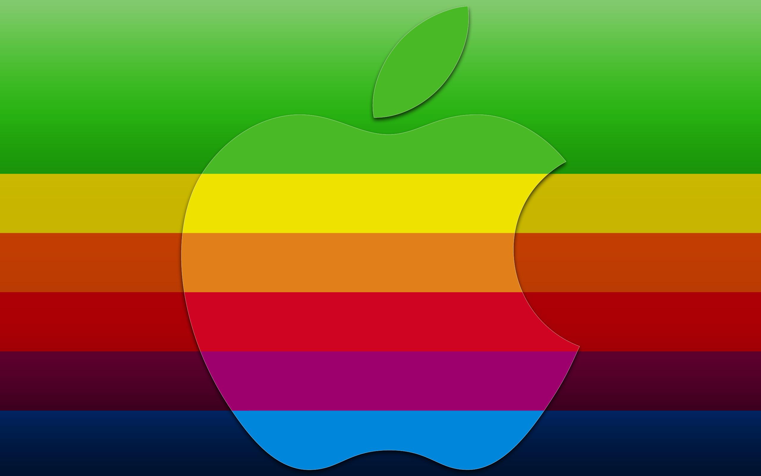 Почему Apple отказалась от радужного логотипа