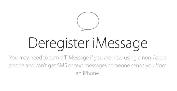 Apple выпустила сервис по «отвязке» номера телефона от iMessage