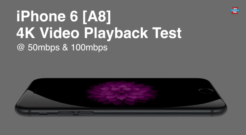 Процессор A8 поддерживает воспроизведение видео 4K