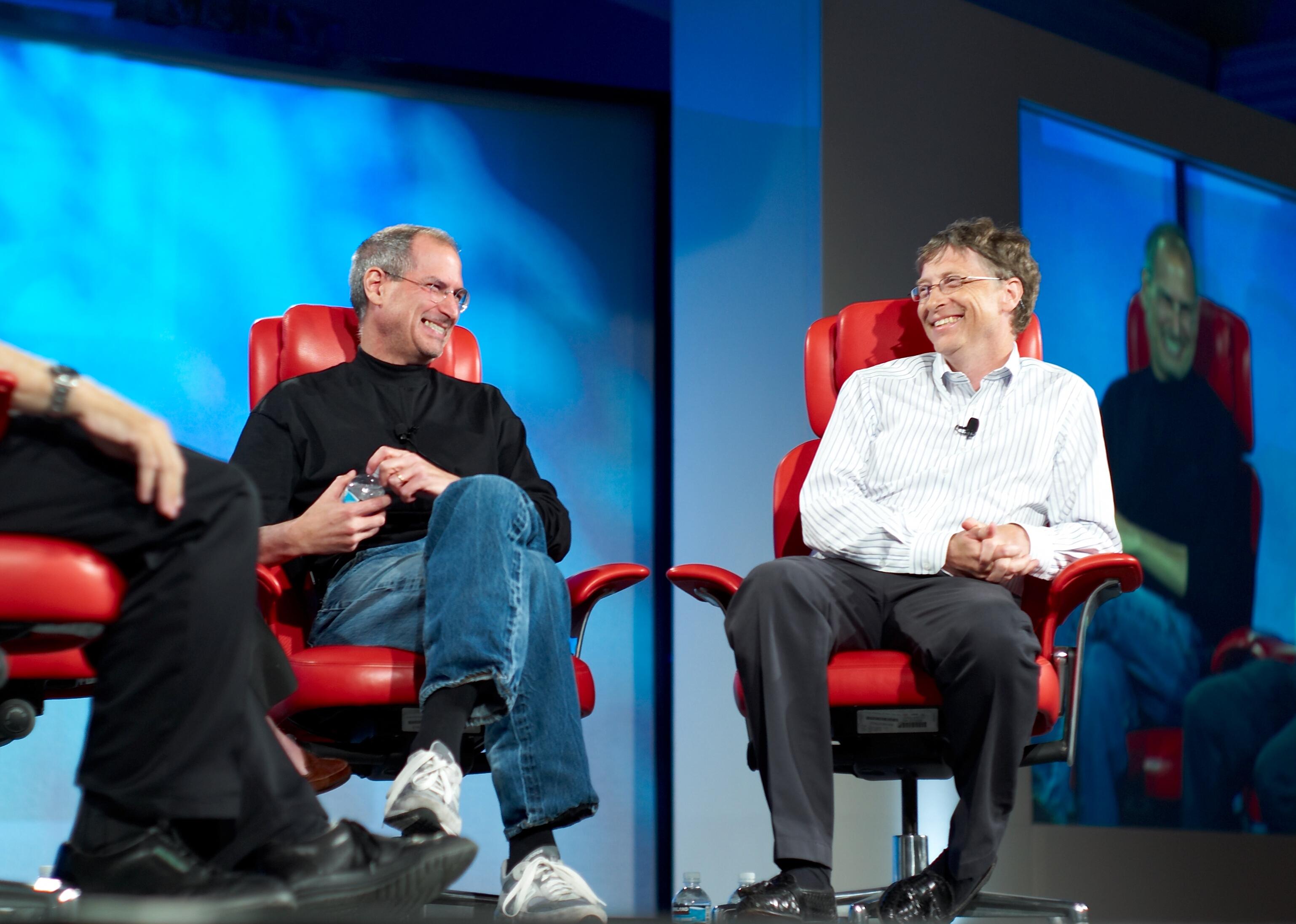 Истинная причина конфликта между Стивом Джобсом и Биллом Гейтсом