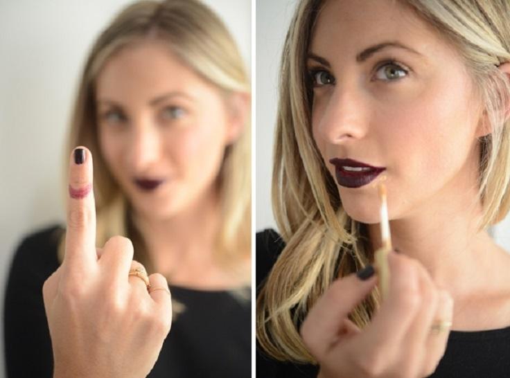 Что будет если лаком для ногтей накрасить губы