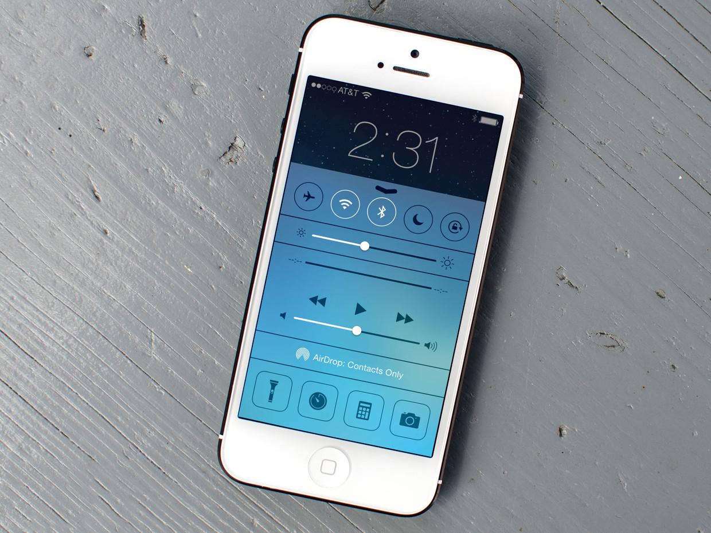 Как убрать панель уведомлений и Control Center с экрана блокировки на iOS