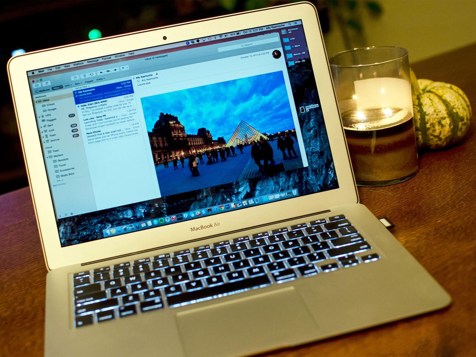 Как делать пометки на изображениях в Mail в OS X Yosemite