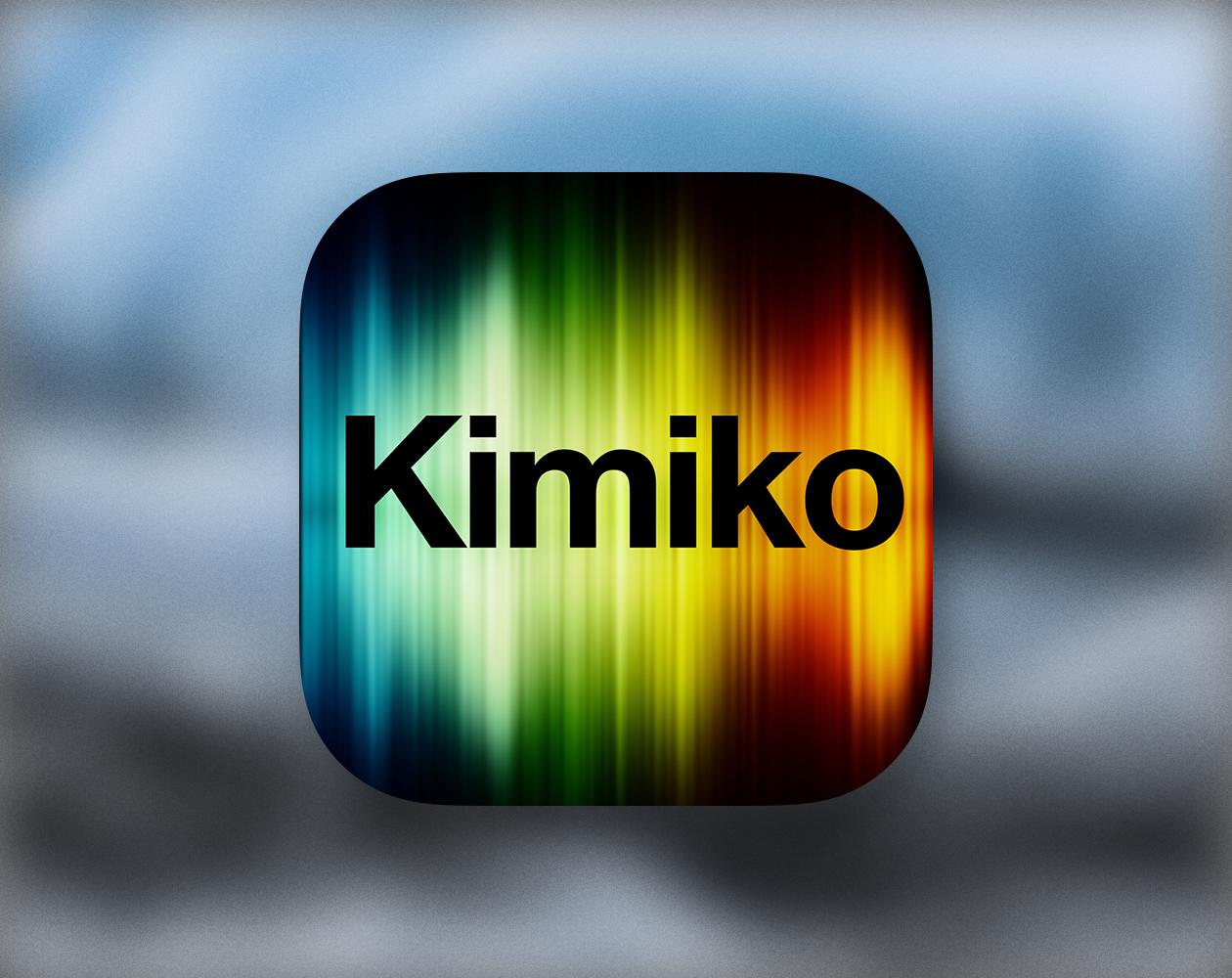 Kimiko для iOS — бесплатная камера для профессионалов
