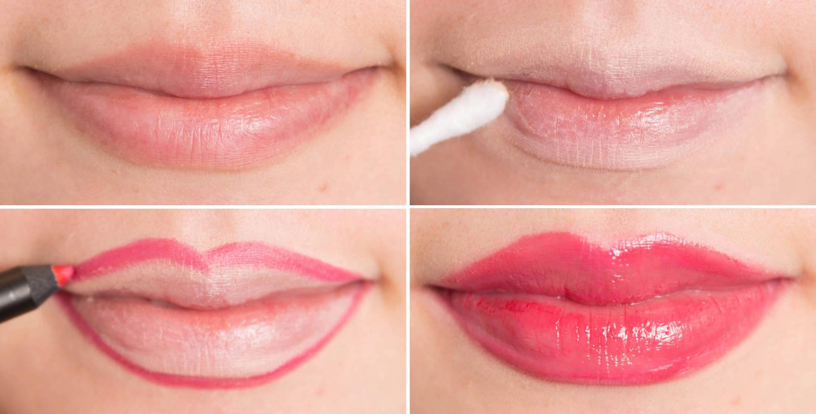 Как сделать губу светлее 1