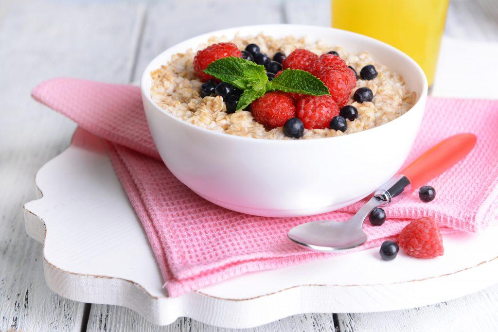 овсянка для похудения на завтрак на воде