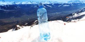 Как сделать так, чтобы вода не превратилась в лёд во время зимних пробежек