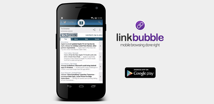 Link Bubble для Android