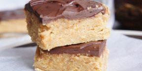Полезные десерты: трюфели из арахисовой пасты, два новых энергетических батончика и арахисовые квадратики с тёмным шоколадом