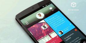 Flow Home — информативная замена устаревшей сетки иконок домашнего экрана