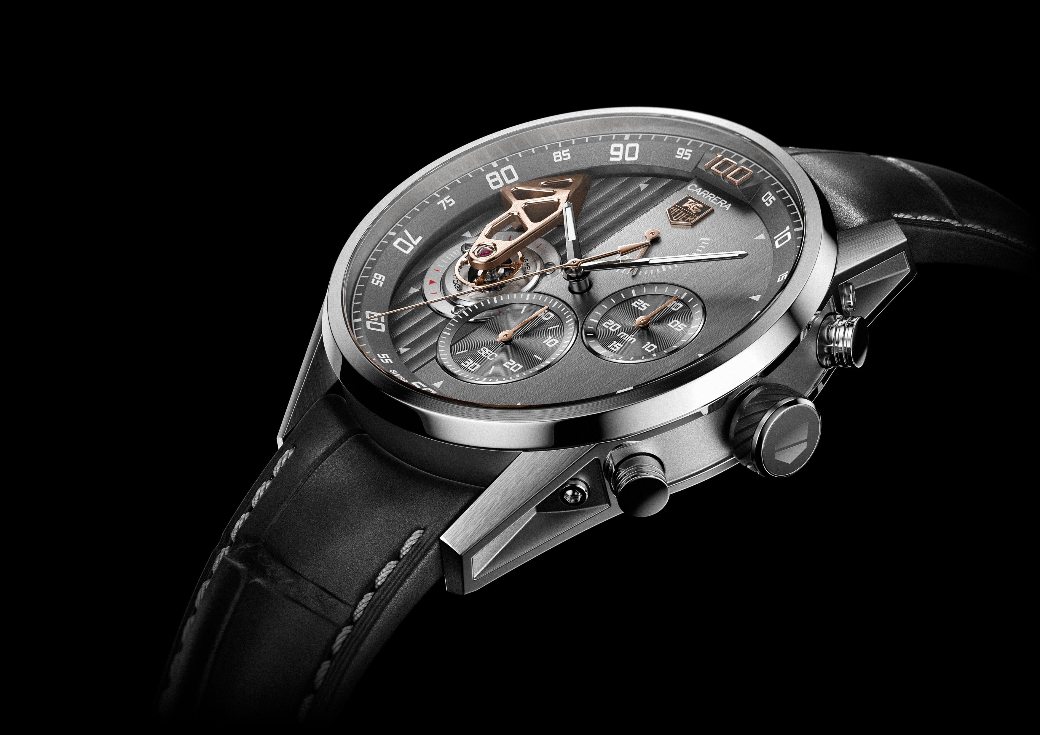 Швейцарская часовая компания TAG Heuer выпустит свои умные часы