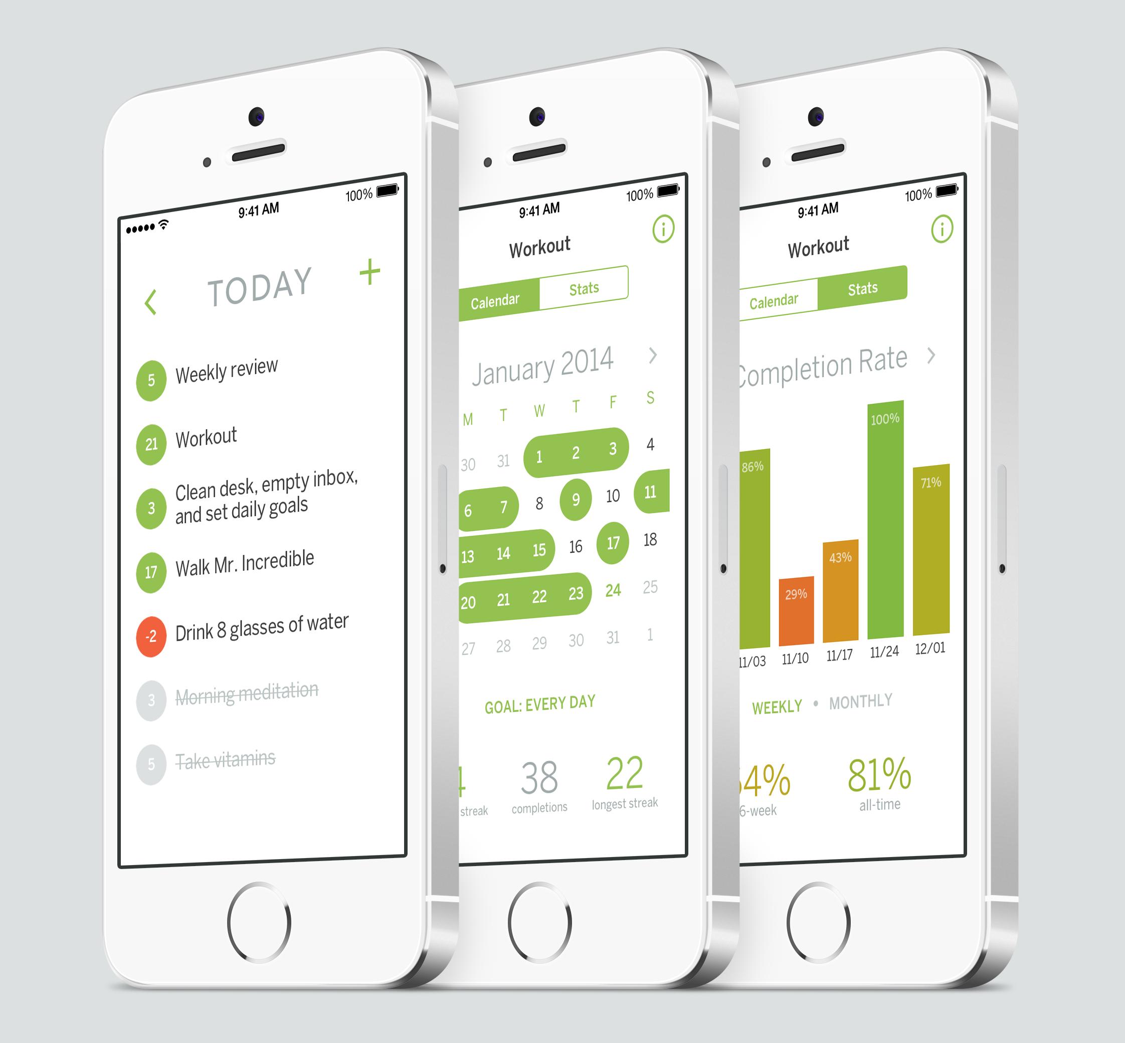 Лучшие iOS-приложения для достижения целей в новом году