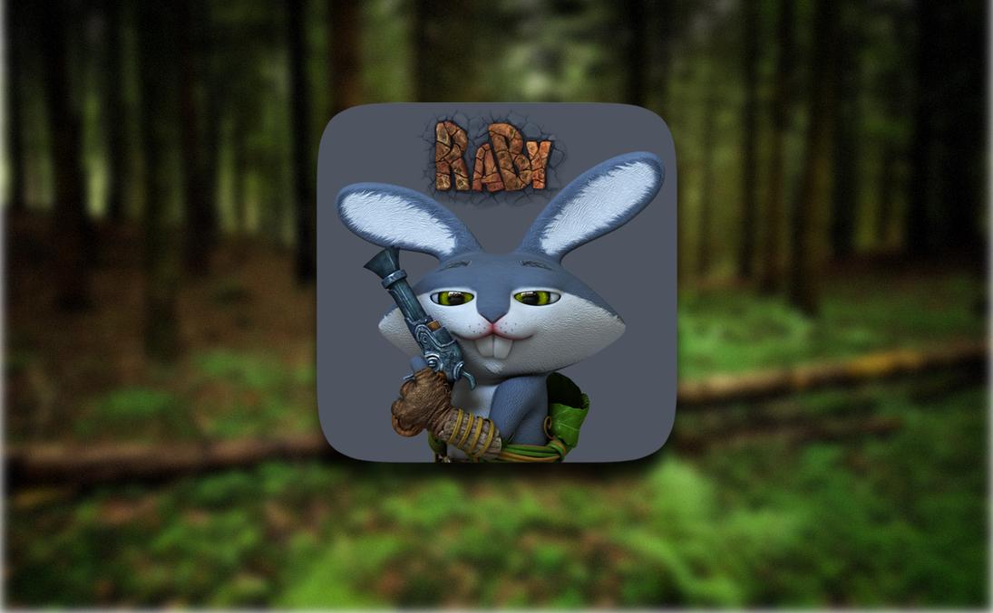 Raby - беспощадный заяц-мститель, враг грибов и друг цветов