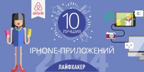 Лучшие iPhone-приложения 2014 года по версии Лайфхакера
