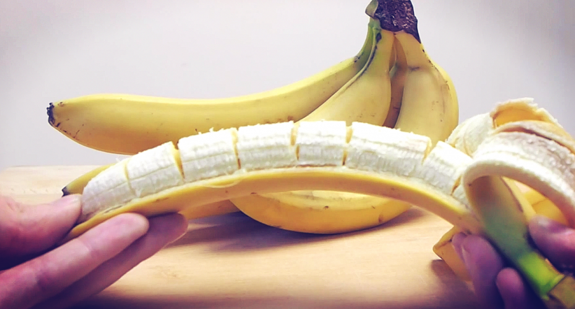 Как сделать себе хорошо бананом 247