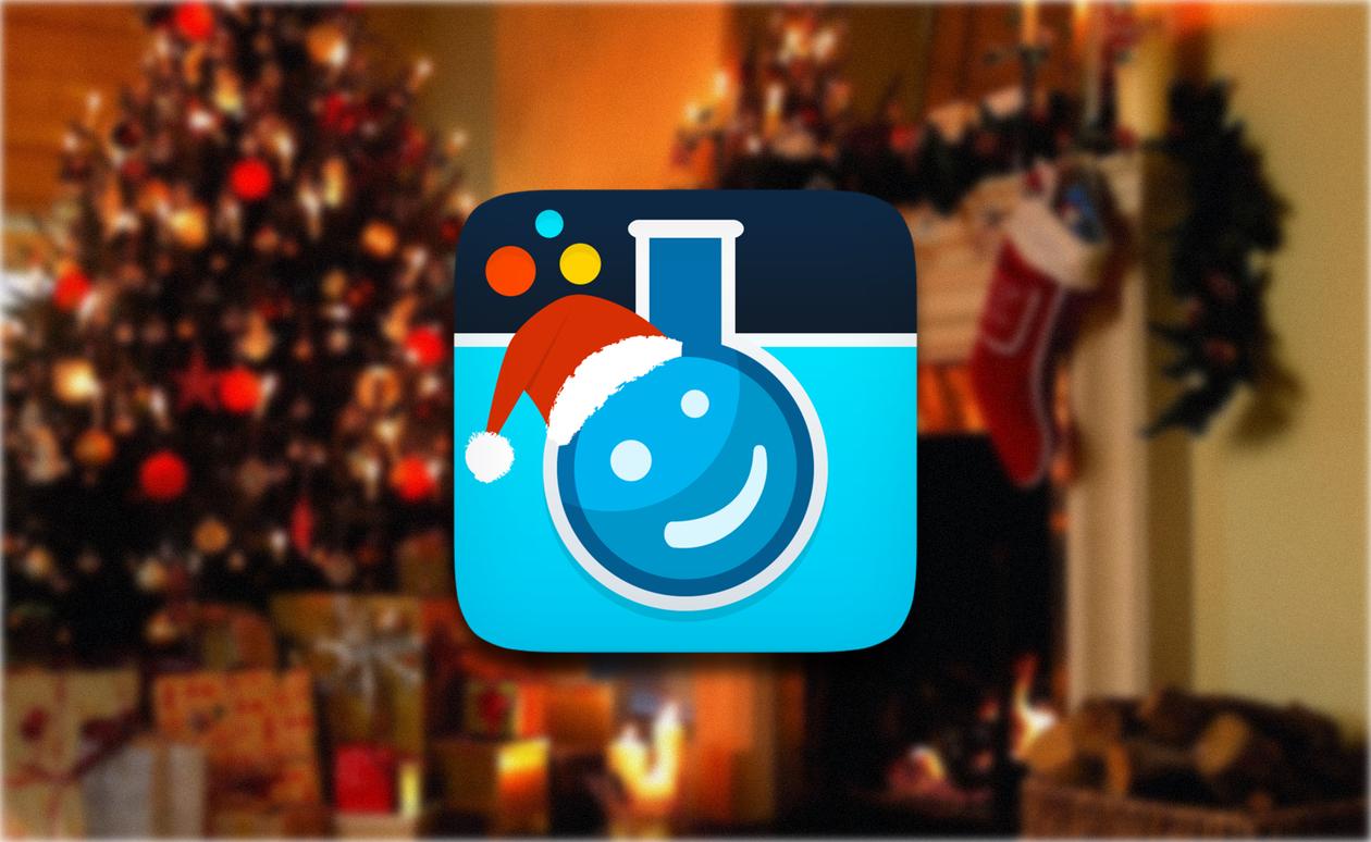 Создаем красочные новогодние открытки вместе с Pho.to lab