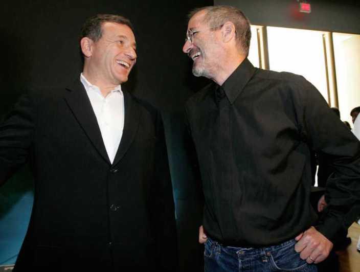 CEO Disney Боб Айгер рассказал о своей дружбе со Стивом Джобсом