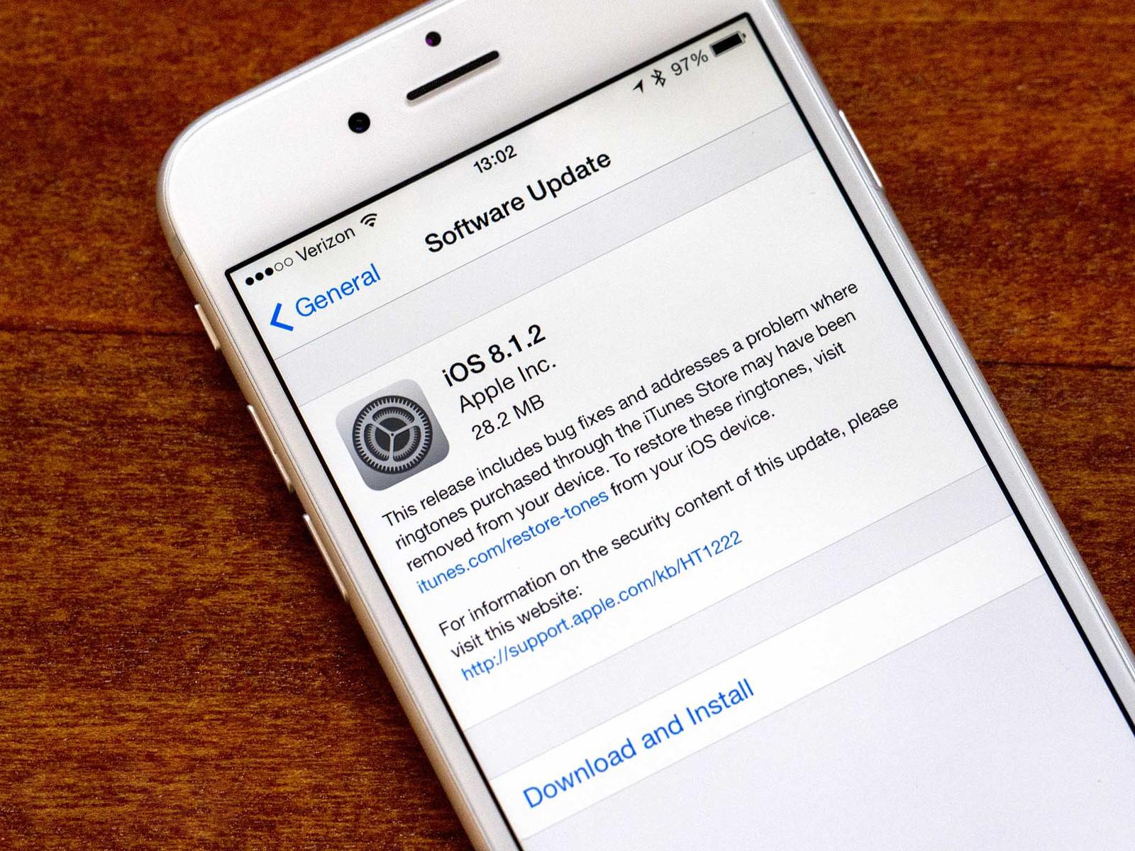 Как сделать джейлбрейк для iOS 8.1.2