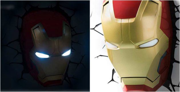 3D светильник «Железный человек»