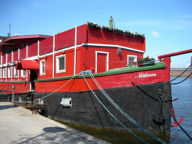 The Red Boat Mälaren room