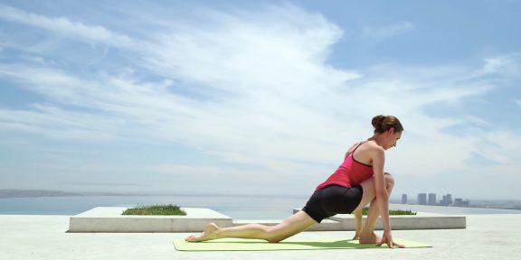 Йога для бегунов: начальный уровень