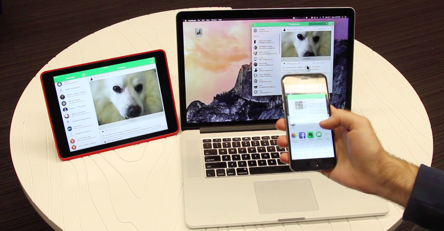Pushbullet обновился для iOS и вышел для Mac и Safari