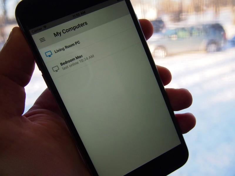 Chrome Remote Desktop позволяет управлять компьютером с iPhone или iPad