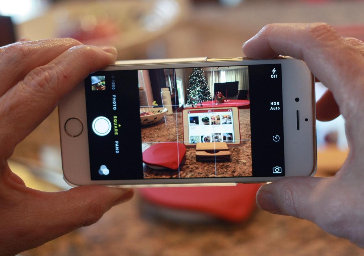 Как правильно делать фото на iphone