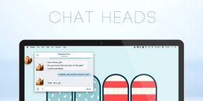 Chat Heads — чат Facebook на рабочем столе вашего Mac