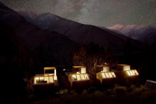 Отель-обсерватория Elqui Domos