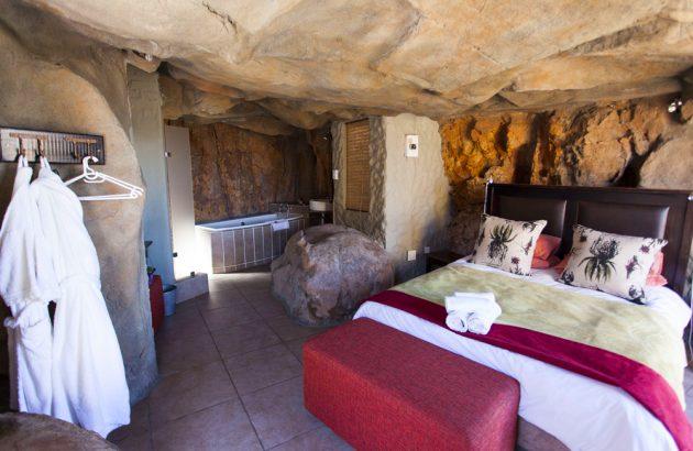 Отель Kagga Kamma гармонично сочетается с природой заповедника