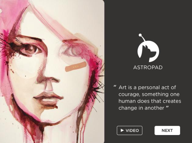 Astropad превратит ваш iPad в полноценный графический планшет