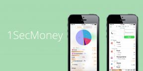 1SecMoney для iOS —самое быстрое приложение для ведения финансов